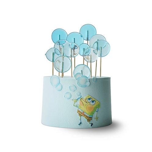 SpongeBob Themed Cake