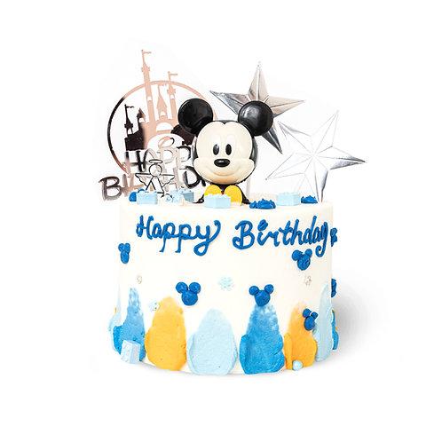 迪士尼米奇主题蛋糕