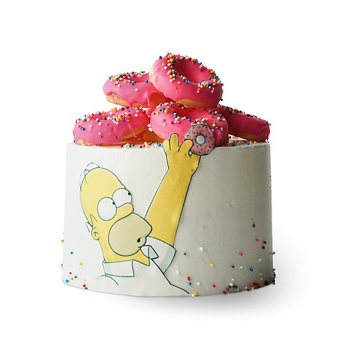 The Simpsons and the Donuts