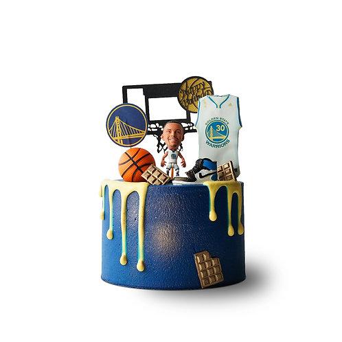 篮球。库里