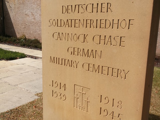 The German military cemetery in England