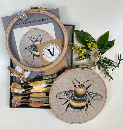 Embroidery Kit - Bumble Bee
