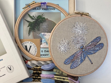 May I introduce you to a NEW embroidery kit?