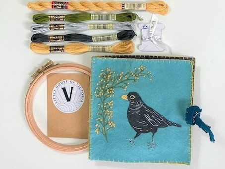 Stitch Your Own Needle Case Kit