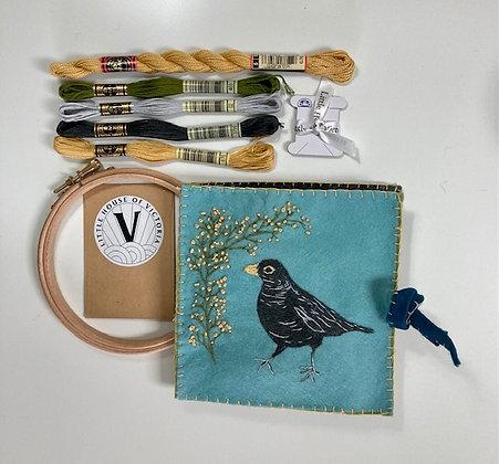 Needle Case Kit - Blackbird & Blossom