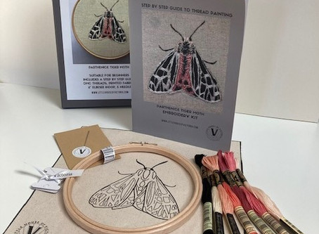 NEW!  Embroidery Kit - A complete project in a box!