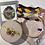 Thumbnail: Embroidery Kit - Automeris Io Moth