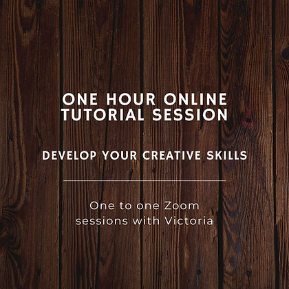 Tutorial Sessions.  One to One Online Sessions via Zoom (1 hour)