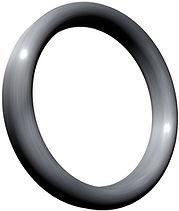 RTJ Ring-Joint Dichtung Typ R-Oval nach ASME B16.20/API 6A und EN12560-5 mit unterproportionaler Dichtfläche für Flansche ASME B16.5 und ASME B16.47 Serie A