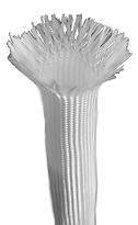 Uncoated fiberglass sleeves