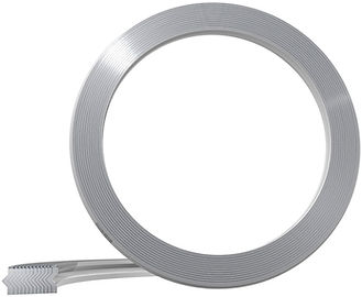 Spiral-wound gasket without inner ring and centring ring for use with tongue and groove flange systems (TG) or male and female flange systems