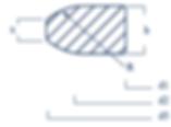 LINSENDICHTUNGEN. Dichtlinsen nach DIN2696 Reihe 2 erzielen Ihre hohe Dichtwirkung durch elastische Deformation der Oberfläche.