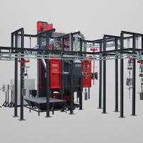 Spinner Hanger Machines   Rosler   Precision Finishing Inc.