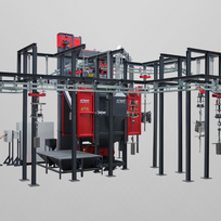 Spinner Hanger Machines | Rosler | Precision Finishing Inc.