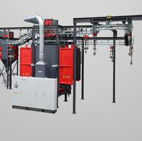 Spinner Hanger Blast Machines   Rosler   Precision Finishing Inc.