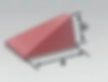 PFC-S |  Wedge Bowtie (DK) | Rosler Pastic Media