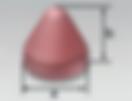 Cone Round Top (KR)   Rosler Pastic Media