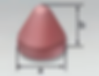 Cone Round Top (K) | Rosler Plastic Vibratory Media