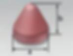 PMC | Cone Round Top (KR) | Rosler Pastic Media