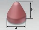 PFC-AF | Cone Round Top (KR) | Rosler Plastic Media