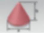 PFC-S | Cone Taper Top (K) | Rosler Pastic Media