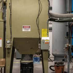 Tightly Controled Dust Collection