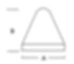 10    Cone   Washington Mills Ceramic Tumbling Media