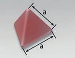 PFC-ZF | Pyramid Tetrahedron (P) | Rosler Plastic Media