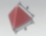 PFC-AF | Pyramid Tetrahedron  (P) | Rosler Plastic Media
