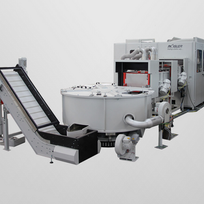 Fully automatic coin polishing system MPA37.1 A2
