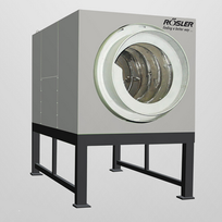 Small, flat bulk material, which are output with the drying agent are the ideal pieces for the drum dryer.