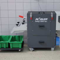 RMO with collecting vessel, integrated switch box and separation option