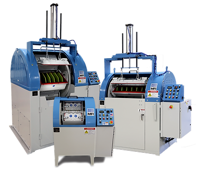 Centrifugal Barrel Finishing Machines | Precison Finishing Inc