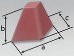 PFC-S |  Pyramid Diamond Base (DK) | Rosler Pastic Media
