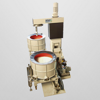 Plunge grinding system for two processing steps without loop lashing