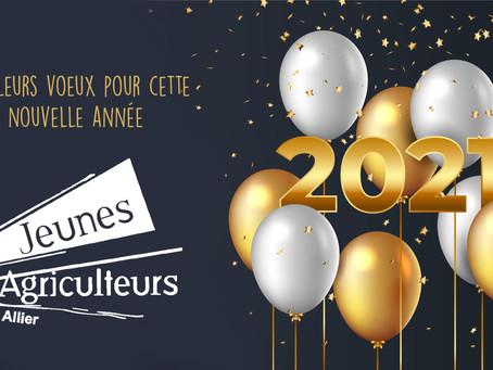 Vœux de Cédric Fournier, président JA03