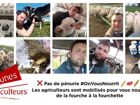 #OnVousNourrit : les agriculteurs poursuivent leurs activités pour nourrir la population