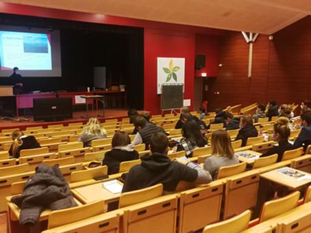 Intervention sur l'installation au lycée agricole de Neuvy