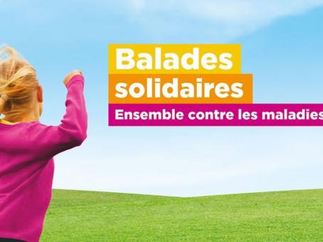 Balade solidaire le 13 juin à St-Léon