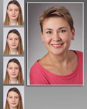 biometrische Passbilder Bewerbungsbilder