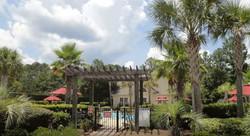 Pool Entrance Gate