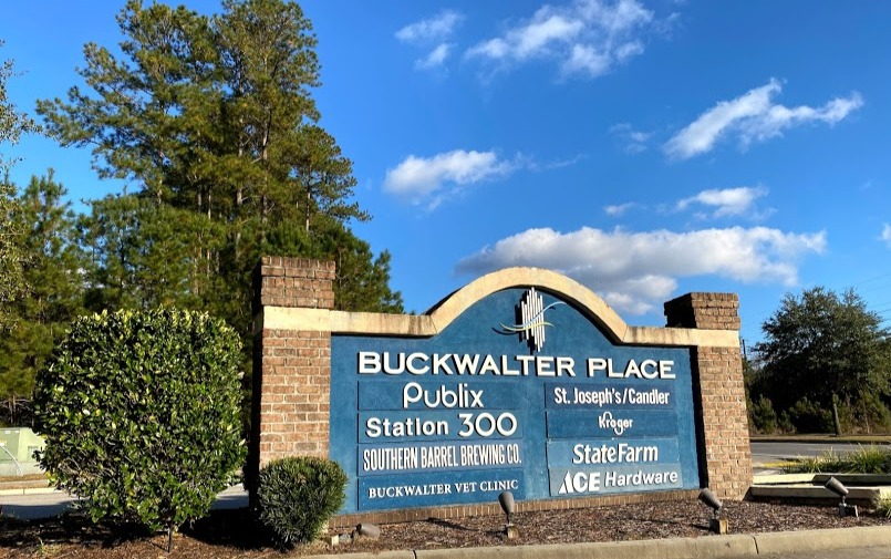 Buckwalter Place Sign
