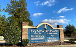 Buckwalter Place Sign