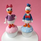 Donal & Daisy Cupcakes