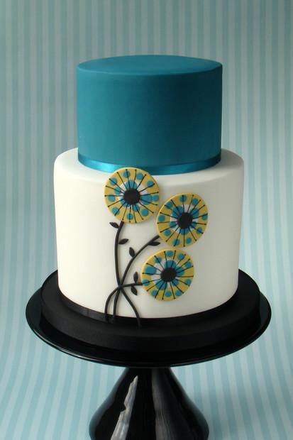 Contemporary Wedding Cake