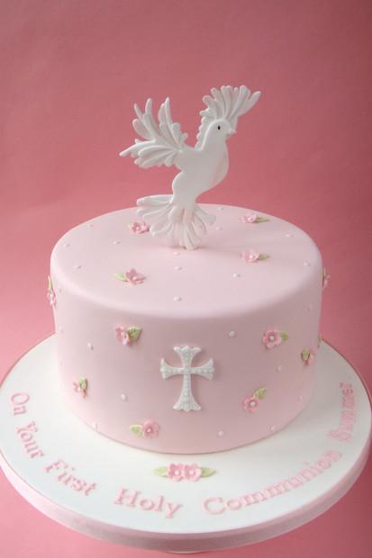 Dove Holy Communion Cake