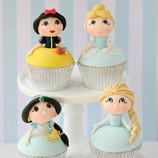 Disney Princess Cupcakes - Amanda - Fina