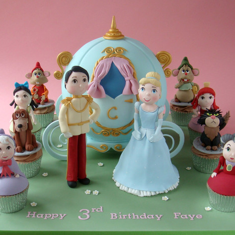 Character Carriage Cake