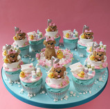 Dog Grooming Cupcakes
