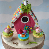 Cute Bird Cupcakes